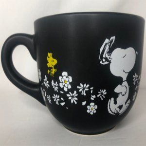 ⭐HP⭐TWO Peanuts Snoopy Floral Soup Mugs